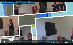 Setting up an Art Therapy studio