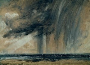 Rainstorm over the Sea by John Constable c.1824-8