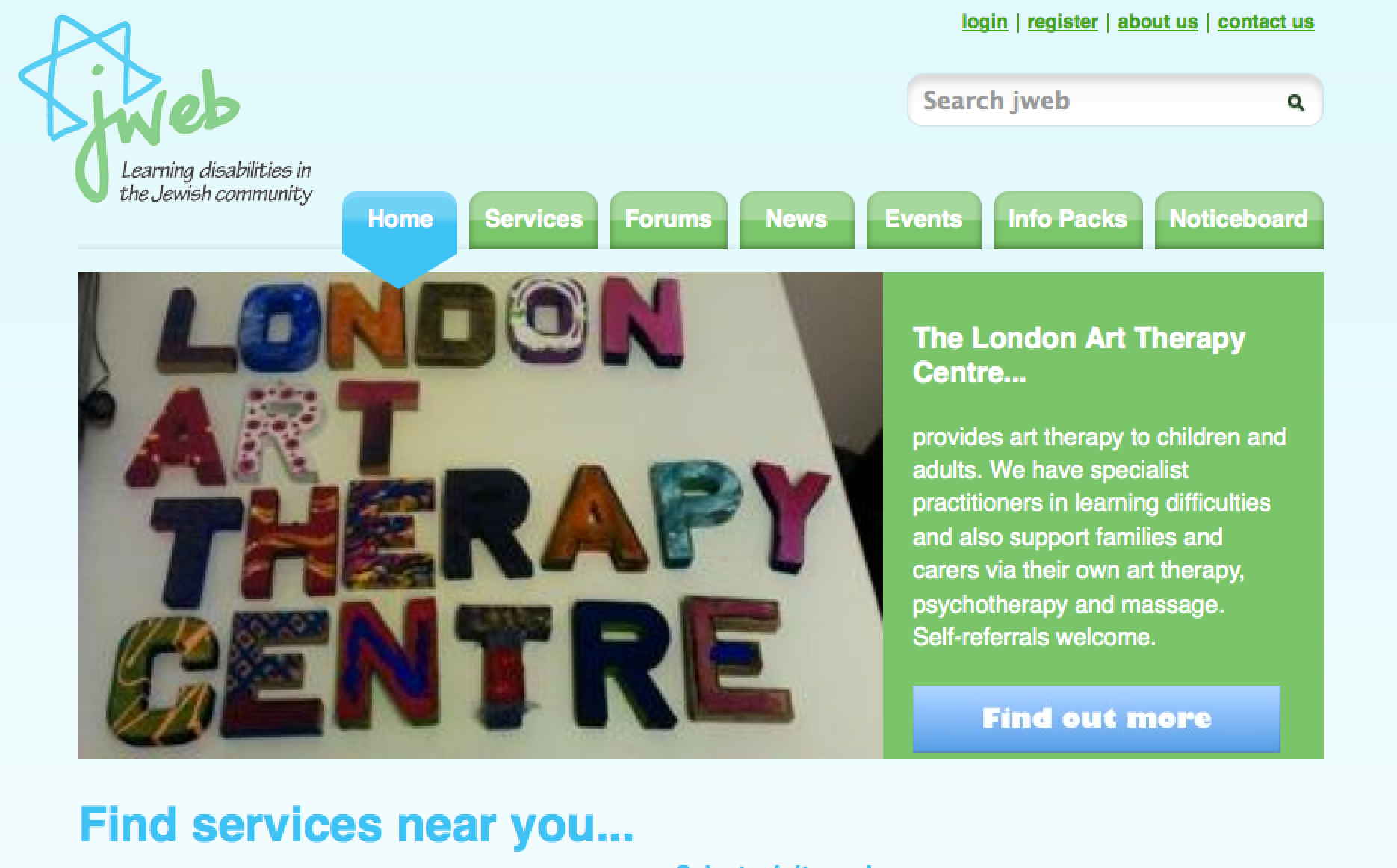 London Art Therapy Centre on jweb